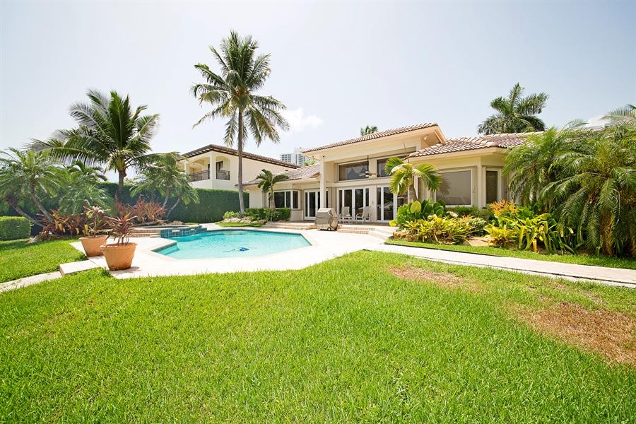 Real Estate Photography - 324 Holiday Dr, Hallandale, FL, 33009 - Side Yard