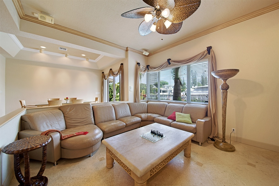 Real Estate Photography - 324 Holiday Dr, Hallandale, FL, 33009 - Family Room