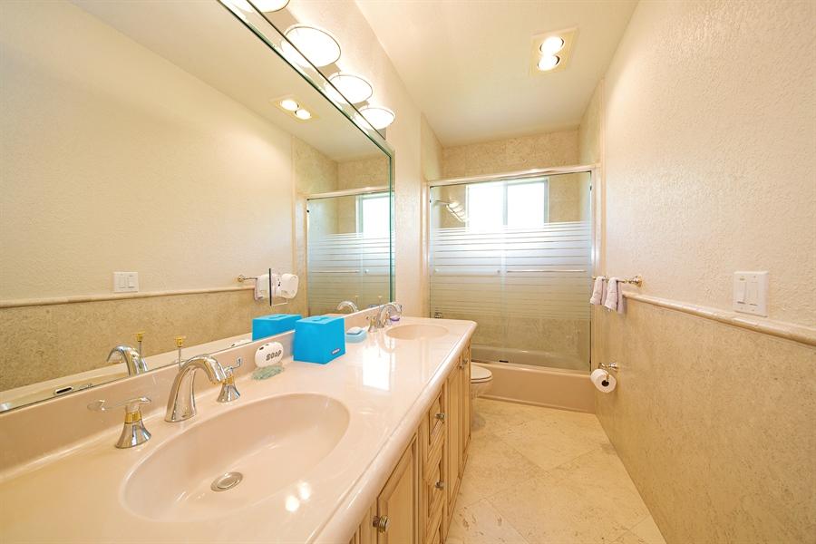 Real Estate Photography - 324 Holiday Dr, Hallandale, FL, 33009 - 2nd Bathroom