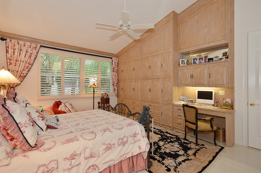 Real Estate Photography - 6190 Island Walk, Unit D, Boca Raton, FL, 33496 - Master Bedroom