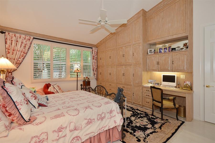 Real Estate Photography - 6190 Island Walk, Unit D, Boca Raton, FL, 33496 - Master Bedroom