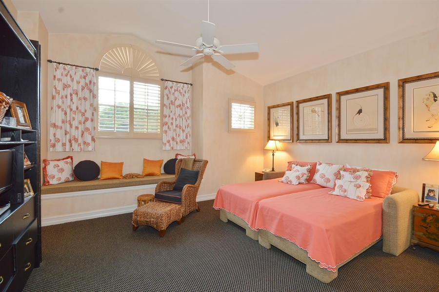 Real Estate Photography - 6190 Island Walk, Unit D, Boca Raton, FL, 33496 - 2nd Bedroom
