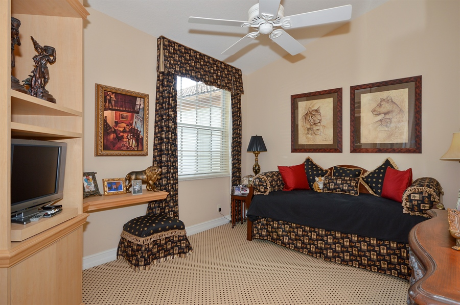 Real Estate Photography - 6190 Island Walk, Unit D, Boca Raton, FL, 33496 - 3rd Bedroom