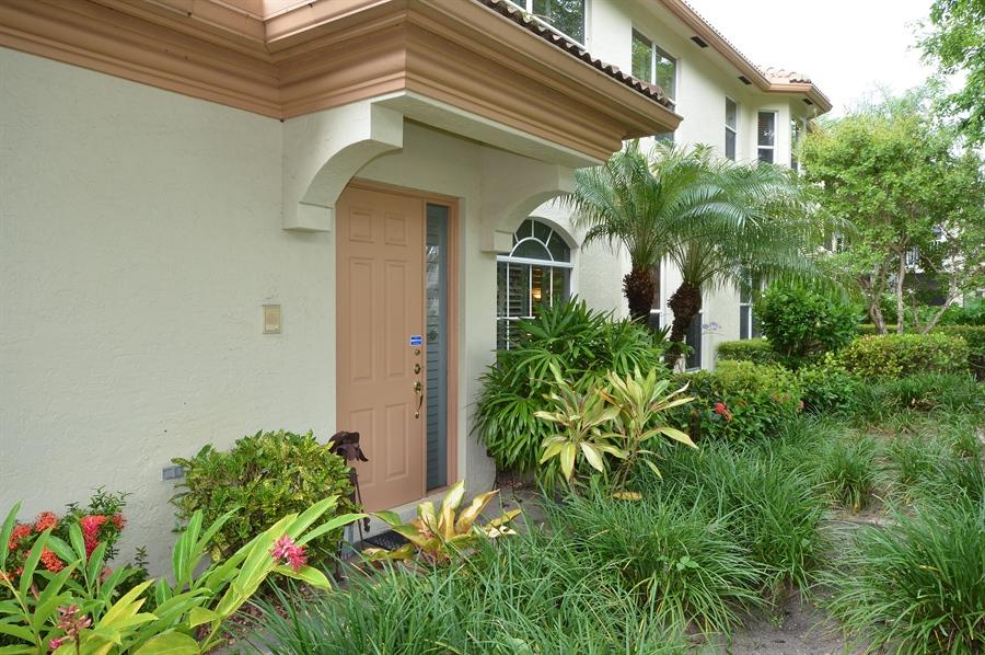 Real Estate Photography - 6190 Island Walk, Unit D, Boca Raton, FL, 33496 - Entrance