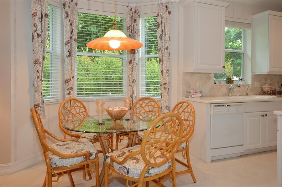 Real Estate Photography - 6190 Island Walk, Unit D, Boca Raton, FL, 33496 - Breakfast Area