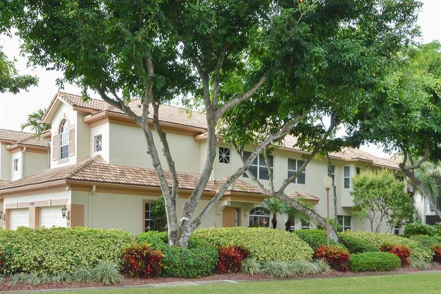 Real Estate Photography - 6190 Island Walk, Unit D, Boca Raton, FL, 33496 - Front View