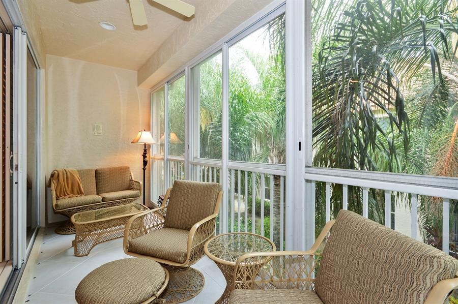 Real Estate Photography - 6190 Island Walk, Unit D, Boca Raton, FL, 33496 - Balcony