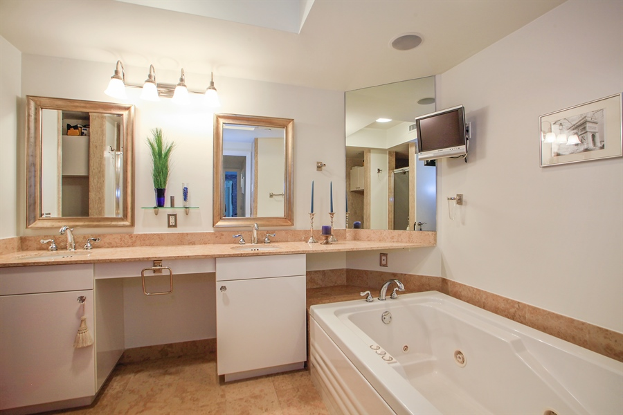 Real Estate Photography - 4779 Collins Ave  Unit 1201, Miami Beach, FL, 33140 - Master Bathroom