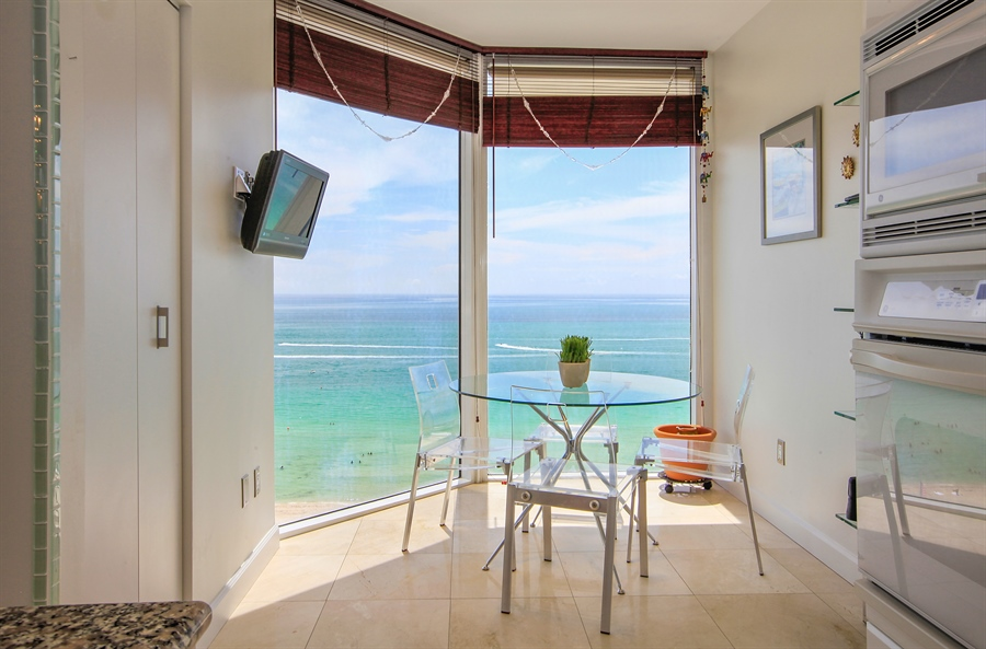 Real Estate Photography - 4779 Collins Ave  Unit 1201, Miami Beach, FL, 33140 - Breakfast Area