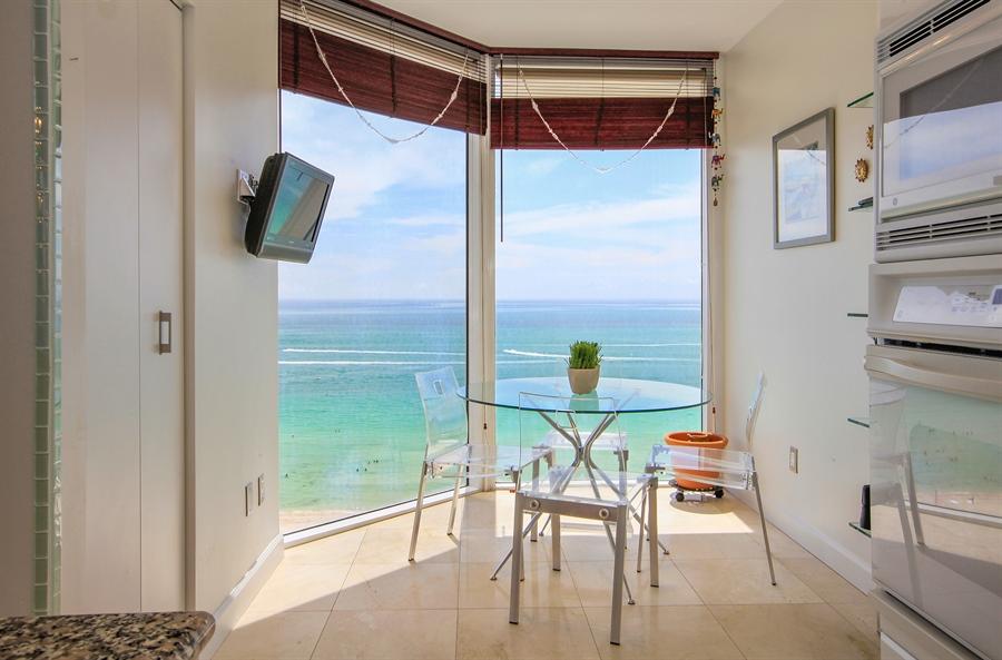 Real Estate Photography - 4779 Collins Ave  Unit 1201, Miami Beach, FL, 33140 - Breakfast Area