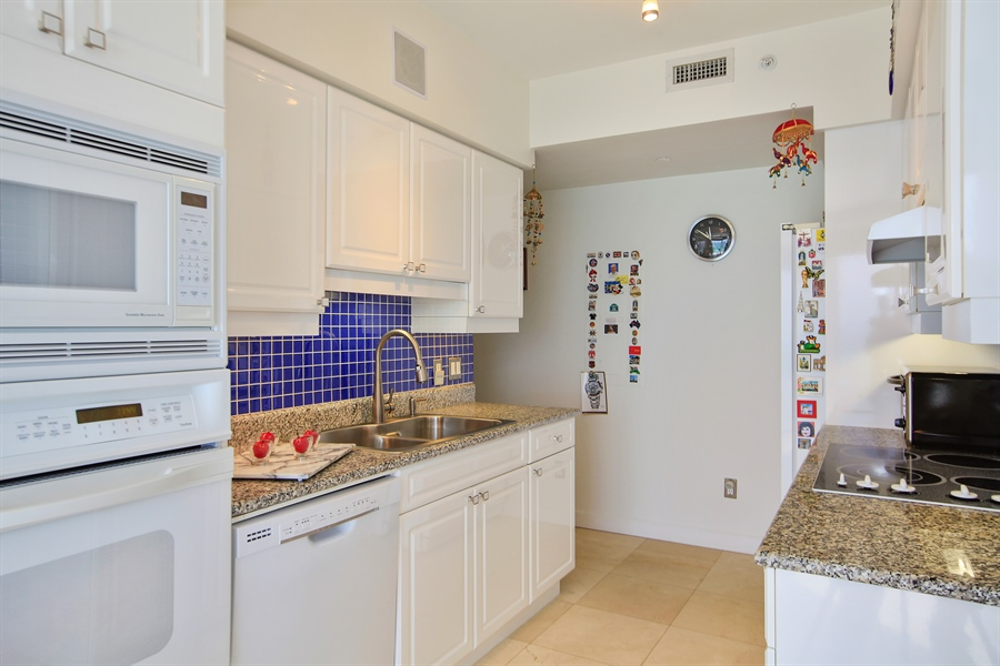 Real Estate Photography - 4779 Collins Ave  Unit 1201, Miami Beach, FL, 33140 - Kitchen