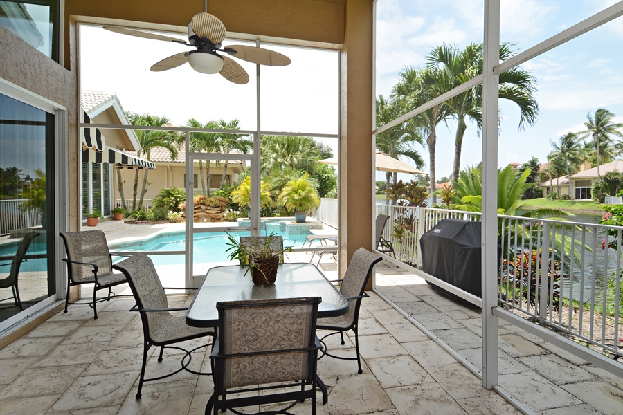 Real Estate Photography - 6565 NW 31st Ter, Boca Raton, FL, 33496 - Screen Patio