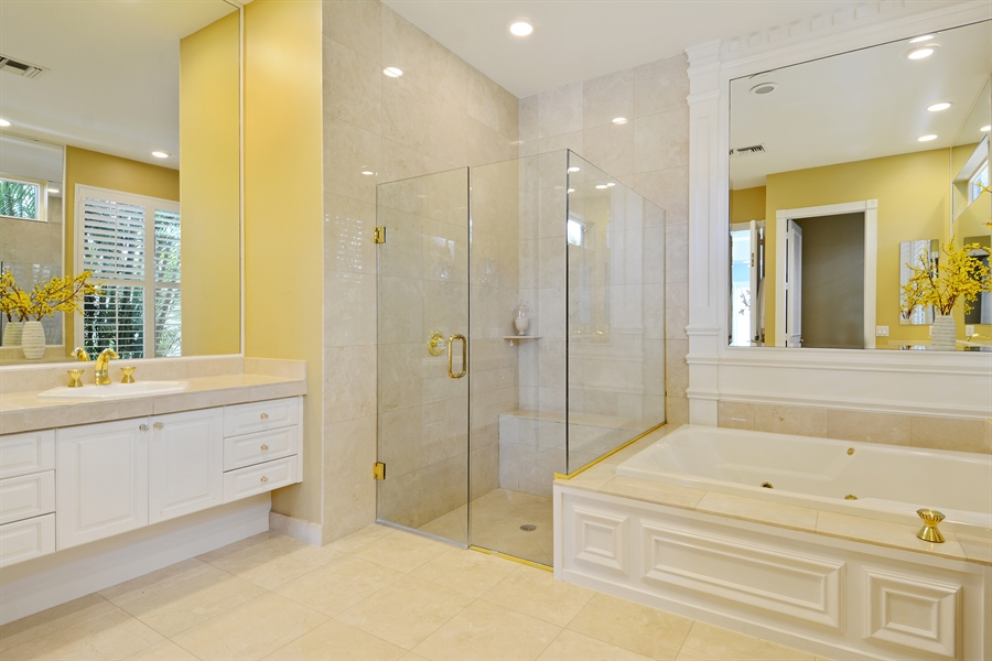 Real Estate Photography - 6565 NW 31st Ter, Boca Raton, FL, 33496 - Master Bathroom