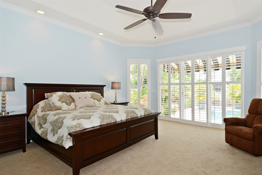 Real Estate Photography - 6565 NW 31st Ter, Boca Raton, FL, 33496 - Master Bedroom