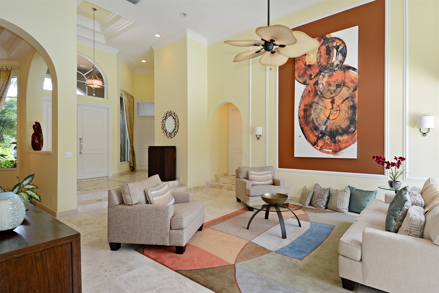 Real Estate Photography - 6565 NW 31st Ter, Boca Raton, FL, 33496 - Living Room