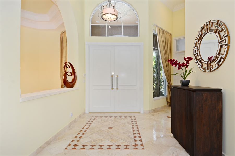 Real Estate Photography - 6565 NW 31st Ter, Boca Raton, FL, 33496 - Foyer