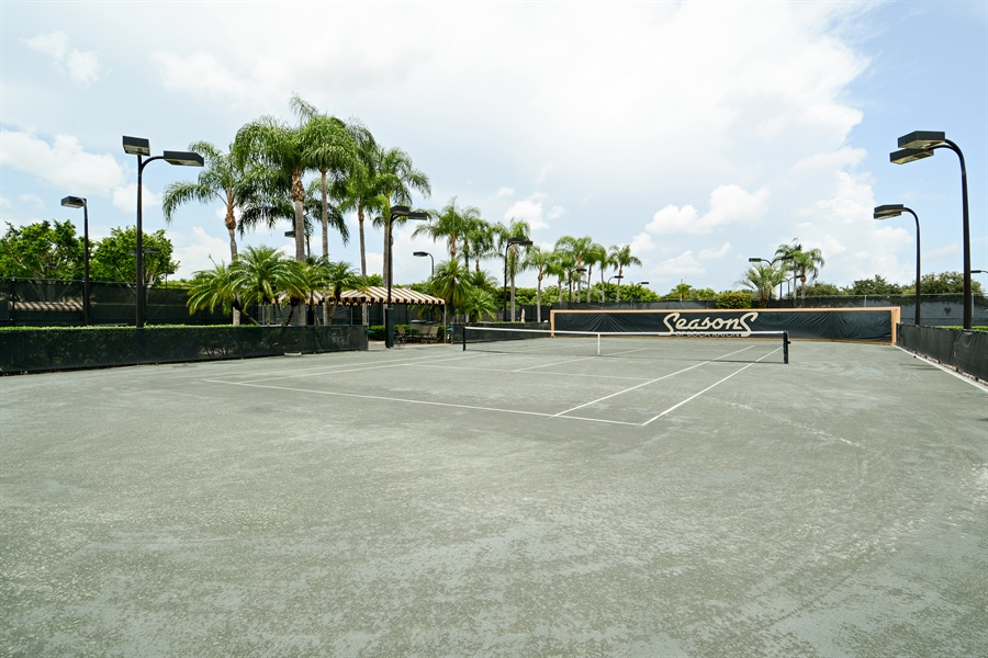 Real Estate Photography - 6565 NW 31st Ter, Boca Raton, FL, 33496 - Tennis Court