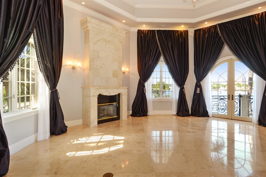 Real Estate Photography - 1645 E Lake Dr, Fort Lauderdale, FL, 33316 - Master Bedroom
