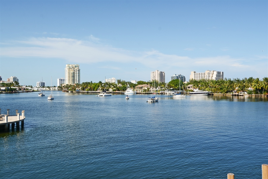 Real Estate Photography - 1645 E Lake Dr, Fort Lauderdale, FL, 33316 - View