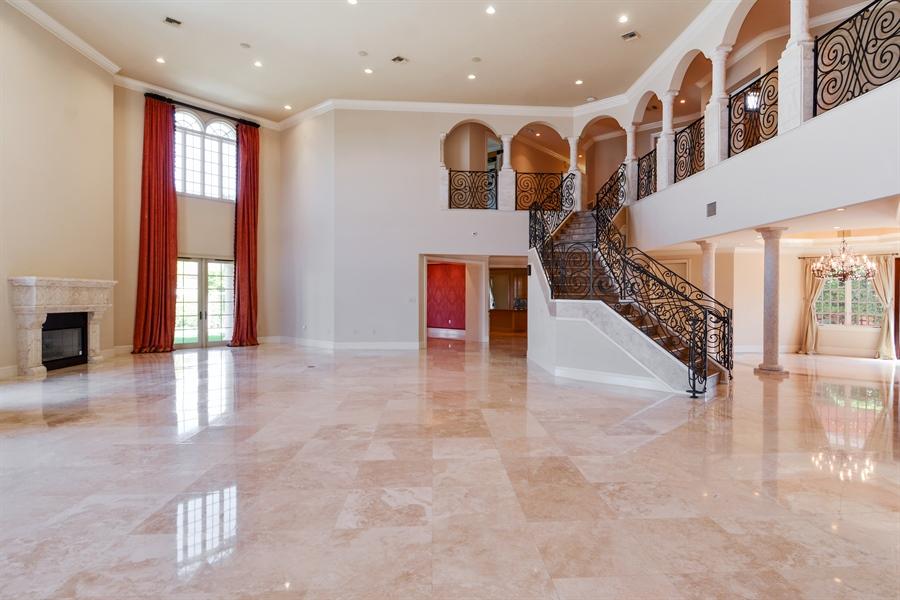 Real Estate Photography - 1645 E Lake Dr, Fort Lauderdale, FL, 33316 - Foyer/Living Room