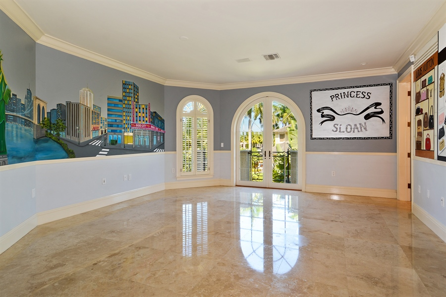 Real Estate Photography - 1645 E Lake Dr, Fort Lauderdale, FL, 33316 - 2nd Bedroom