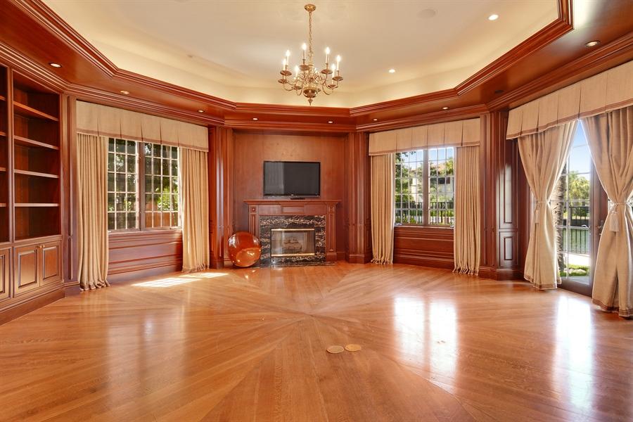 Real Estate Photography - 1645 E Lake Dr, Fort Lauderdale, FL, 33316 - Den