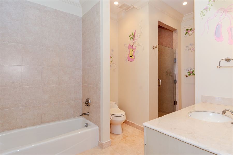 Real Estate Photography - 1645 E Lake Dr, Fort Lauderdale, FL, 33316 - Bathroom