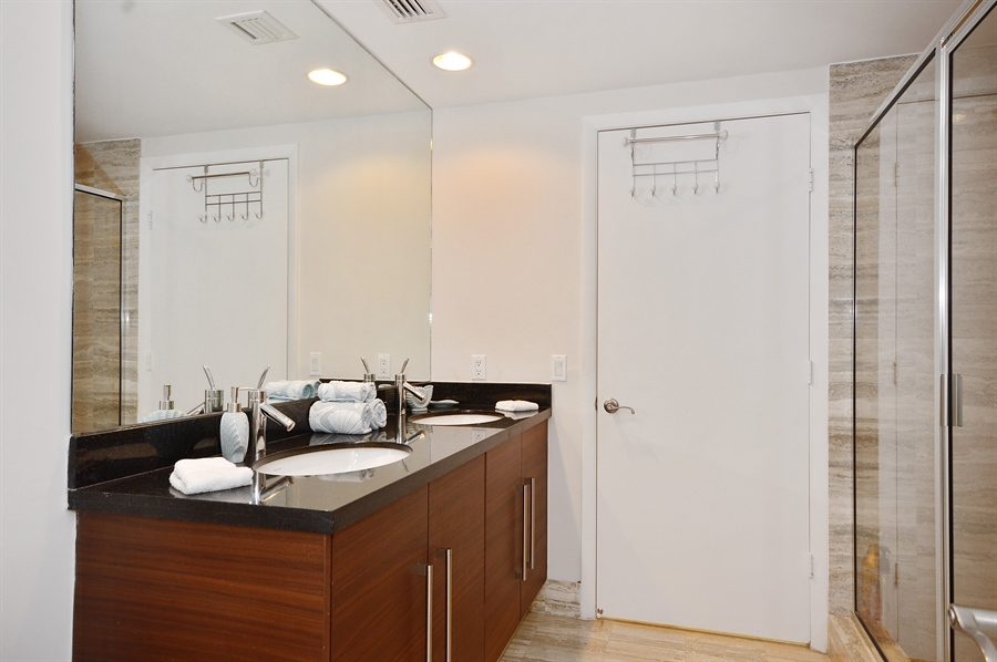 Real Estate Photography - 101 Ft Lauderdale Beach Blvd, Unit 702, Ft Lauderdale, FL, 33316 - Bathroom