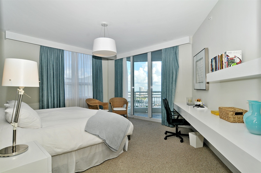 Real Estate Photography - 848 Brickell Key Dr, Unit 3806, Miami, FL, 33131 - Master Bedroom