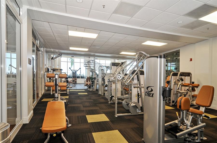 Real Estate Photography - 848 Brickell Key Dr, Unit 3806, Miami, FL, 33131 - Gym