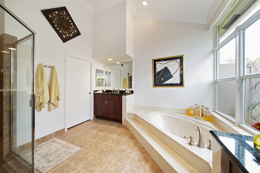 Real Estate Photography - 6062 NW 30th Way, Boca Raton, FL, 33496 - Master Bathroom