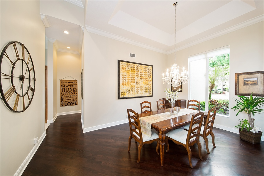 Real Estate Photography - 6062 NW 30th Way, Boca Raton, FL, 33496 - Dining Room