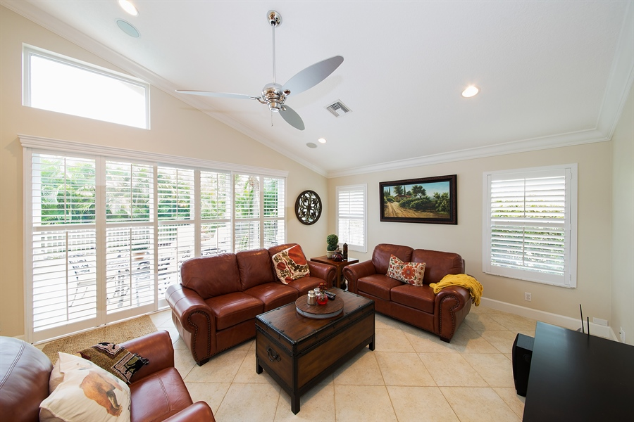 Real Estate Photography - 6062 NW 30th Way, Boca Raton, FL, 33496 - Family Room