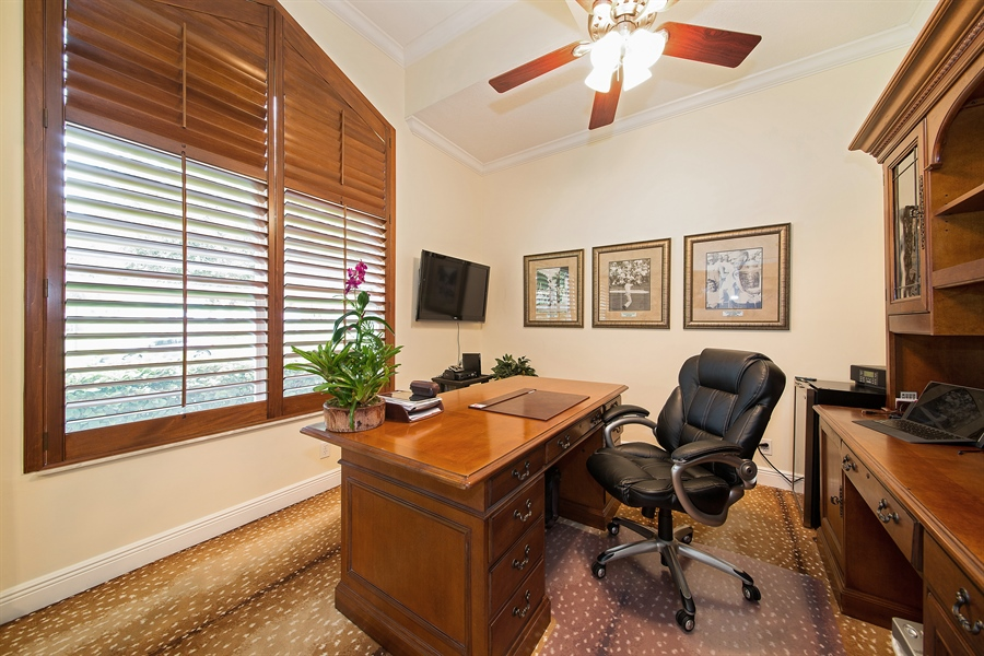 Real Estate Photography - 6062 NW 30th Way, Boca Raton, FL, 33496 - Office