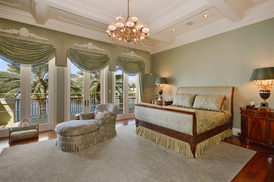Real Estate Photography - 1301 E Lake Dr, Fort Lauderdale, FL, 33316 - Master Bedroom