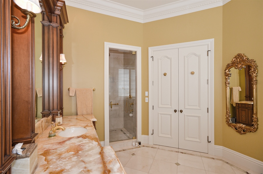 Real Estate Photography - 1301 E Lake Dr, Fort Lauderdale, FL, 33316 - Master Bathroom