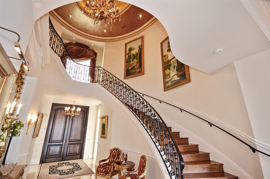 Real Estate Photography - 1301 E Lake Dr, Fort Lauderdale, FL, 33316 - Staircase