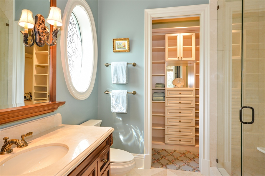 Real Estate Photography - 1301 E Lake Dr, Fort Lauderdale, FL, 33316 - Bathroom