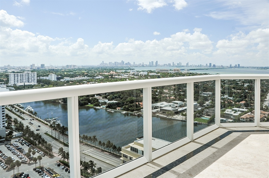 Real Estate Photography - 4775 Collins Ave, Unit 3103, Miami, FL, 33140 - City View