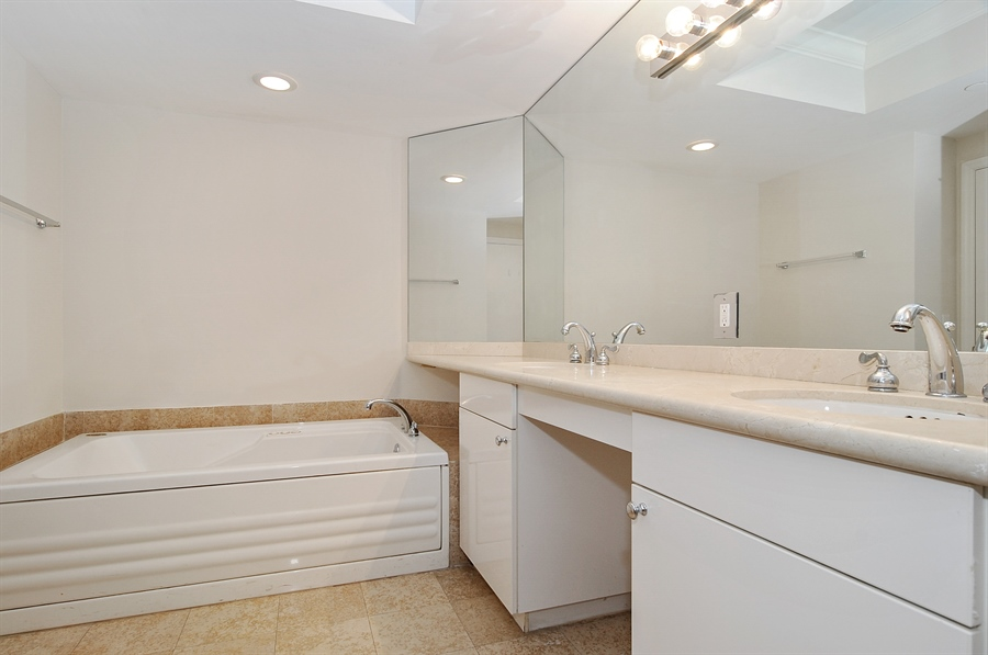 Real Estate Photography - 4775 Collins Ave, Unit 3103, Miami, FL, 33140 - Master Bathroom