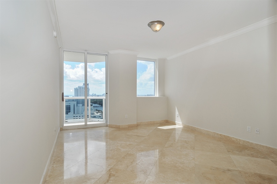 Real Estate Photography - 4775 Collins Ave, Unit 3103, Miami, FL, 33140 - Master Bedroom