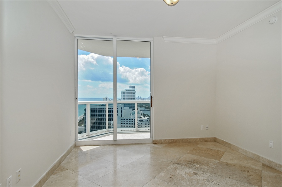 Real Estate Photography - 4775 Collins Ave, Unit 3103, Miami, FL, 33140 - 2nd Bedroom