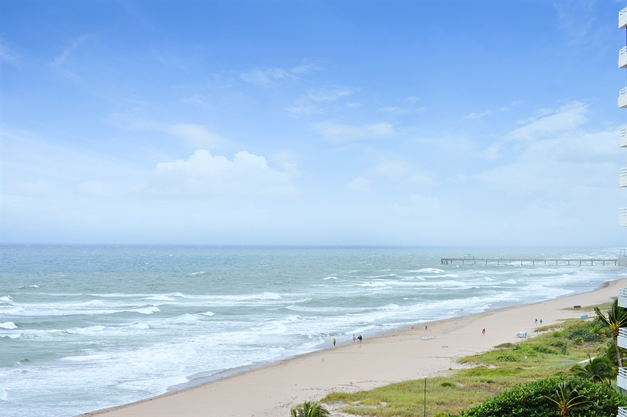 Real Estate Photography - 1400 S Ocean Blvd, N706, Boca Raton, FL, 33432 - View