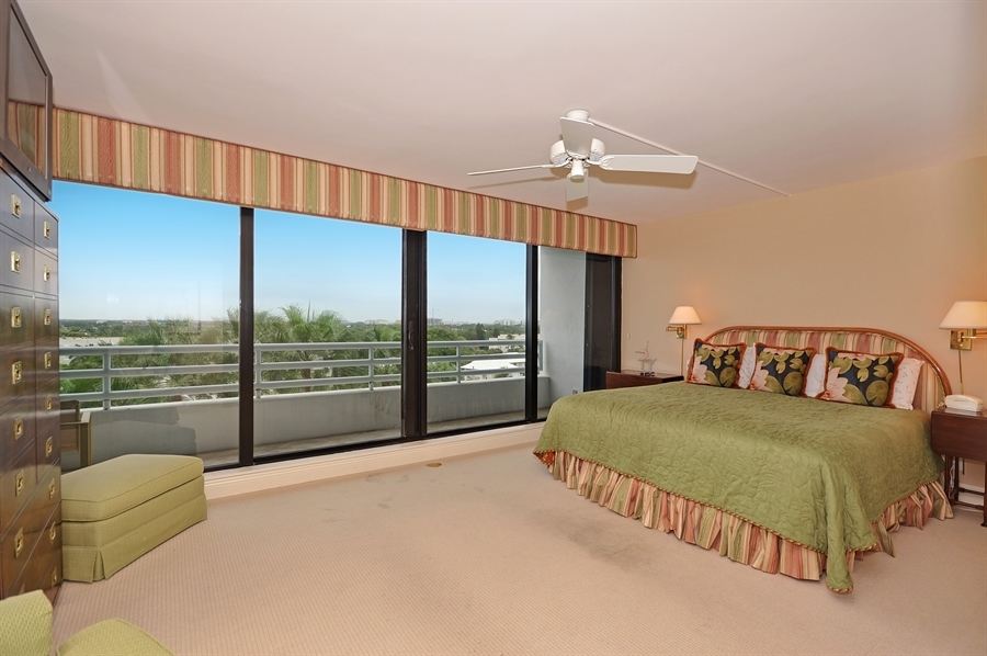 Real Estate Photography - 1400 S Ocean Blvd, N706, Boca Raton, FL, 33432 - 2nd Bedroom