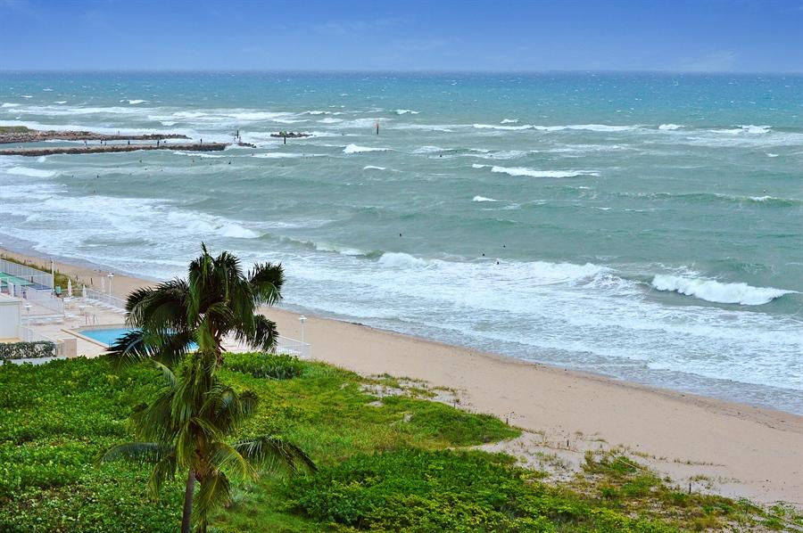 Real Estate Photography - 1400 S Ocean Blvd, N706, Boca Raton, FL, 33432 - Ocean View
