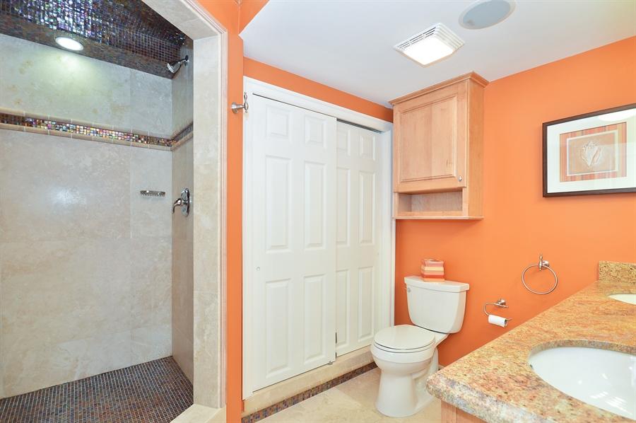 Real Estate Photography - 4511 S Ocean Blvd, Unit 601, Highland Beach, FL, 33487 - Master Bathroom