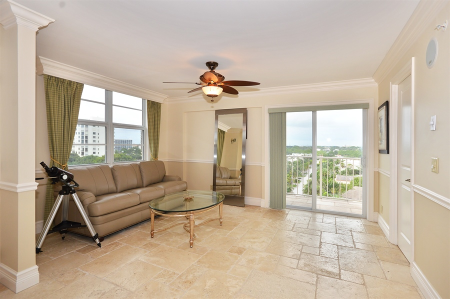Real Estate Photography - 4511 S Ocean Blvd, Unit 601, Highland Beach, FL, 33487 - Bedroom