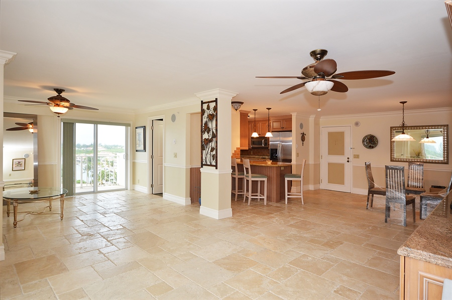 Real Estate Photography - 4511 S Ocean Blvd, Unit 601, Highland Beach, FL, 33487 - Great Room