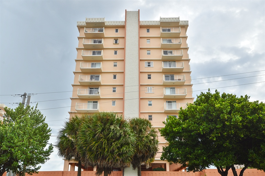 Real Estate Photography - 4511 S Ocean Blvd, Unit 601, Highland Beach, FL, 33487 - Front View