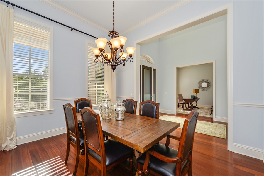 Real Estate Photography - 615 Balibay Rd, Apollo Beach, FL, 33572 - Dining Room